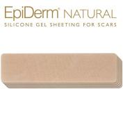 Epi-Derm C-Strip -3.6cm x 15cm - (5 Pack) (Natural) Silicone Scar Sheets from Biodermis