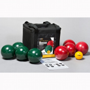 St Pierre Sports Professional Bocce Set, Green/Maroon, 107mm