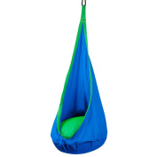 OYISIYI kids swing chair hammock children pod nook tent cotton hanging seat nest for indoor and out door use