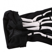UNKE Halloween Unisex Touch Screen Skull Skeleton Gloves Warm