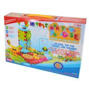 Aisa Kids Gears Building Toy Set Coloured Interlocking Learning Blocks Motorised Spinning Gears Toys Early Intelligence Education Gear kits