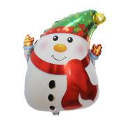 Hot Sale!Elevin(TM)2017Merry Christmas Party Household Children Snowman Santa Claus Elk Balloon Decor Fun