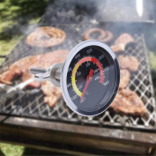BBQ Oven Thermometer, Barbecue Stove Thermometer BBQ Stainless Steel Thermometer by TTnight