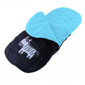 HEART SPEAKER Baby Stroller Footmuff Cover Warm Sleeping Bag