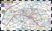 Streetwise Paris Metro Map - Laminated Metro Map of Paris, France