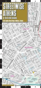 Streetwise Athens & the Greek Islands Map - Laminated City Center Street Map of Athens, Greece