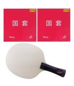 Stiga Master Active + Tuttle Beijing IV Both Side Table Tennis Racket