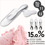 "Case outdoor No. 10/No.11/No .12 kitchen for exclusive use of the carrying made of ice spoon aluminium with the 15.0% Lemnos ""ice cream spoon case"" ice cream spoon case melts"