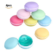 FUNTOK Slime Macaroon kit Jelly Toy Crystal Mud Soft Squeeze Squishy Pudding Toy For Kids Education 8pcs