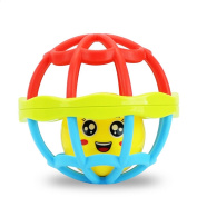 Soft Activity Grasping Bell Ball Kids Toys Rattles Sound Educational Rolling Balls Infant Toddler Teether Toy for 1-2 Years Old,Develop Intelligence Grasping Ball Hand Bell Little Lond Ball Gift