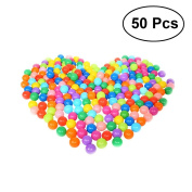 TOYMYTOY 50PCS 5.5CM Kids Ball Plastic Ball Pit Balls for Babies Kids Children Birthday Parties Pool Tent Ocean Swim Toys Ball