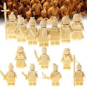 Wholesale 7pcs/lot Minifigures terracotta warriors Building Blocks Children Toys