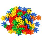 WEKA 45Pcs Plastic Colours Building Block Bricks Sets Enlighten Educational Construction Toys for Kids Children Boys and Girls
