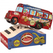 (Set) Disney Muppet Electric Mayhem Musical Bus On Keyboard + AAA Batteries
