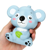 Cute Koala Cream Scented Squishy Toy,Elaco (12cm)Slow Rising Squeeze Strap Kid Toy Gift