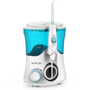 2NICE Water Flosser 10 Pressure Settings Oral Irrigator 600ml High Capacity Flosser with 7 Multifunctional Tips 20-150 PSI for Family