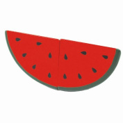 Product for children of the watermelon G05-1074-C watermelon watermelon ingredients vegetables fruit one piece of article wooden toy wooden playing house first playing house series WOODYPUDDY dinghy cognitive education toy food education woman