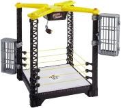 WWE FFH41 Tough Talkers Championship Takedown Ring Playset