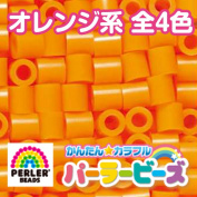 Parlour beads iron beads single colour rose orange / / night airglow orange / apricot