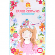 A paper Crown Princess and jewel