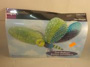 Anagram International 77358 100cm Cute Dragonfly Balloon, Green/Blue