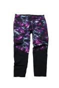 Ideology Plus Size Purple Multi Printed Leggings 2X