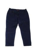 Melissa Mccarthy Seven7 Plus Size Blue Zipper Detail Pencil Jeans 24W