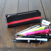 Border / pencil case / leather / leather / small ones quickly, to pencil case * name not Yep_1010P30May15