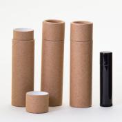 45ml Kraft Paperboard Lip Balm/Salve/Cosmetic/Lotion Tubes x300
