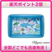 Igarashi aquarium pool (blue) 100cm in height X 68cm in width X 25cm in height