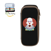 Mybox Clown Cube Pen Case Pencil Box Soft Canvas Student Stationery Office Storage