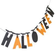 Halloween Clothespin Cardstock Banner