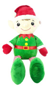 100cm Jumbo Arthur Elf Plush Soft Toy - Childrens Christmas Plush - Giant Elf Toy