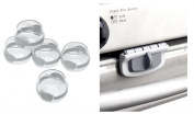 Safety 1st Clear View Stove Knob Covers and Oven Lock