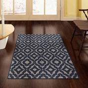 Lexington Mandarin Accent Slip Resistant Backing, Stain Resistant Fibre, Durable, Stylish, Very Affordable Rug by Mohawk