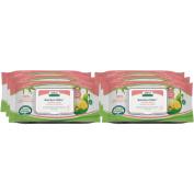 Aleva Naturals Bamboo Baby Sensitive Wipes, 432 Count (6 Packs of 72) - 6 Packs of 72 Count - Sensitive Bamboo Wipes - Biodegradable in 21 days - Eco Friendly - For Sensitive Skin - Eczema Prone Skin