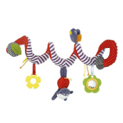 New Infant Toys Baby Crib Revolves Around The Stroller Playing Toy Crib Lathe Hanging Baby Stroller Hanging Accesaries