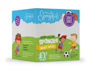 Spongefuls Soap Filled Sponges, Sport Shapes, 3 Ct