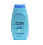 Shower To Shower Absorbent Body Powder Morning Fresh 30ml + Schick Slim Twin ST for Dry Skin
