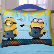 Minions Stuart, Kevin and Bob Reversible Pillowcase