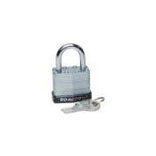 ROADPRO RPLS-40 40MM LAMINATED STEEL PADLOCK WITH BUMPER GUARD 1 SHACKLE