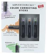 Kristofer Buckle Set 3 Colour Correcting, Conceals Sticks, Make up Concealer .2720ml Each