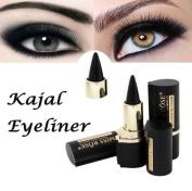 Snowfoller Eyeliner, Makeup Eyes Pencil Longwear Black Gel Eye Liner Stickers Eyeliner Wateroroof Lasting