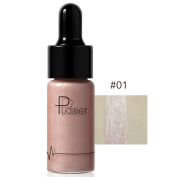 Face Glow,12 Colours Highlighter Make Up Concealer Shimmer Face Glow Liquid Highlighter Cream DWD