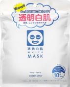 Ishizawa Transparent White Skin White Mask N 10Pcs