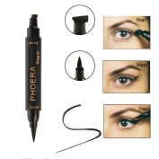 Glorrt Easy to Makeup Vamp Stamp Cat Eye Wing Eyeliner Stamp Tool 1 Second Makeup Kit