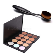 Pro Cosmetic Makeup Party Face Powder Blusher Toothbrush Curve Brush Foundation