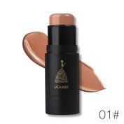 Create Attractive Makeup, Lotus.flower Women Highlight Contour Stick Waterproof Face Makeup Cream Shimmer Concealer