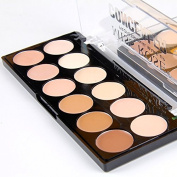 12 Colour Professional Cream Contour, Highlighting Concealer Makeup Kit 3 in 1 - Contouring Foundation / Concealer Palette - Vegan, Cruelty Free & Hypoallergenic