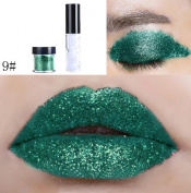 Ikevan Glitter Powder 20 Colour Eyeshadow or Lip Gloss Powder Long-lasting Water-tight Silky Shine Colour Glitter Powder
